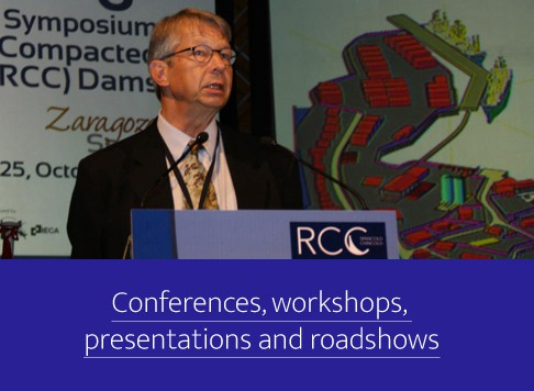 Conferences, workshops, presentations and roadshows